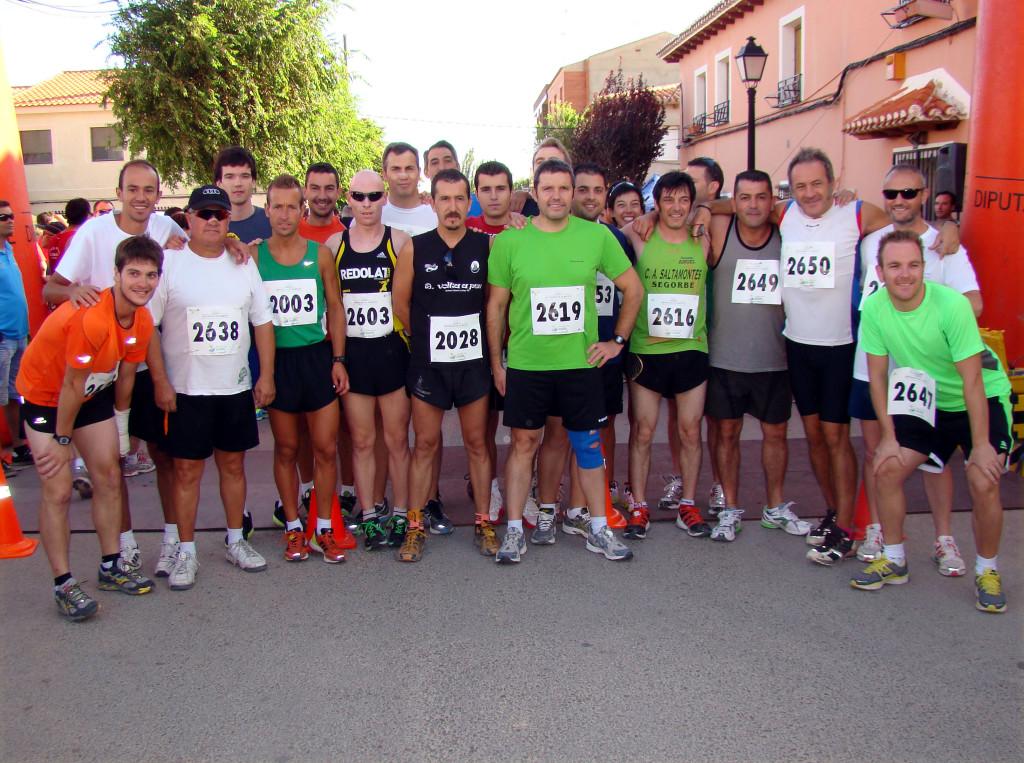 Atletas de Pétrola (Foto: Paco Villaescusa)