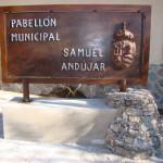 Entrada al Pabellón de Hoya Gonzalo