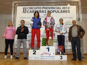 Podio femenino del año pasado (Foto: Paco Villaescusa)