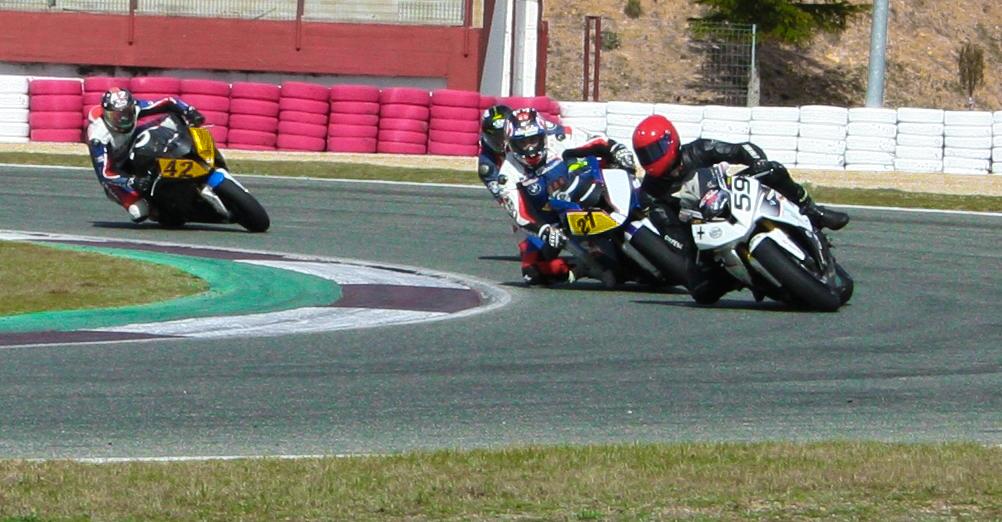 BMW en carrera (Foto: Circuito de Albacete)