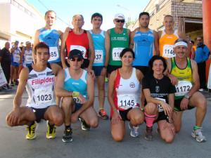 Atletas con todas las carreras (Foto: Paco Villaescusa)