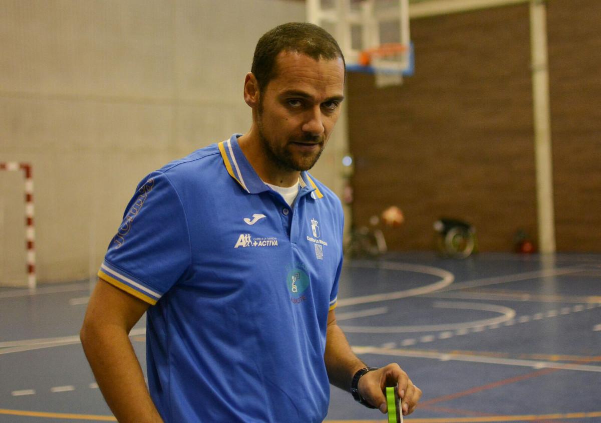 Abraham Carrión, entrenador del BSR Amiab Albacete