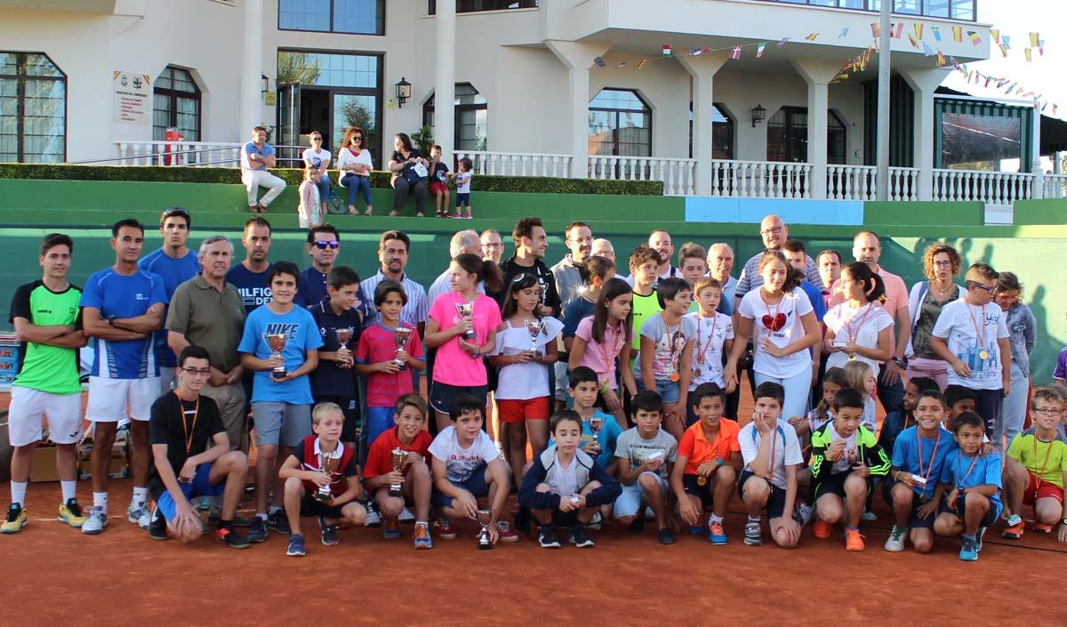 Acto de Clausura de la Liga de Jóvenes Promesas en el Club de Tenis Albacete