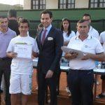 Acto de Clausura en el Club Tenis Albacete con David Meca