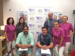 Acuerdo CB Villarrobledo y Clínica Dental Doblas
