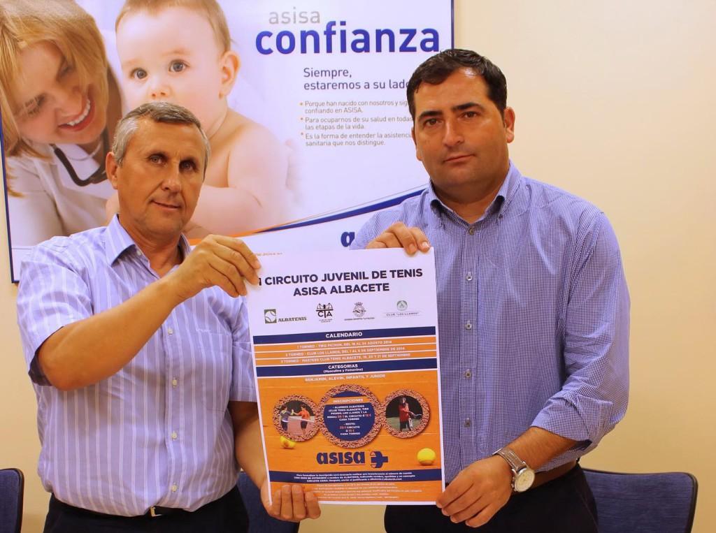 Acuerdo entre el Club Tenis Albacete y Asisa