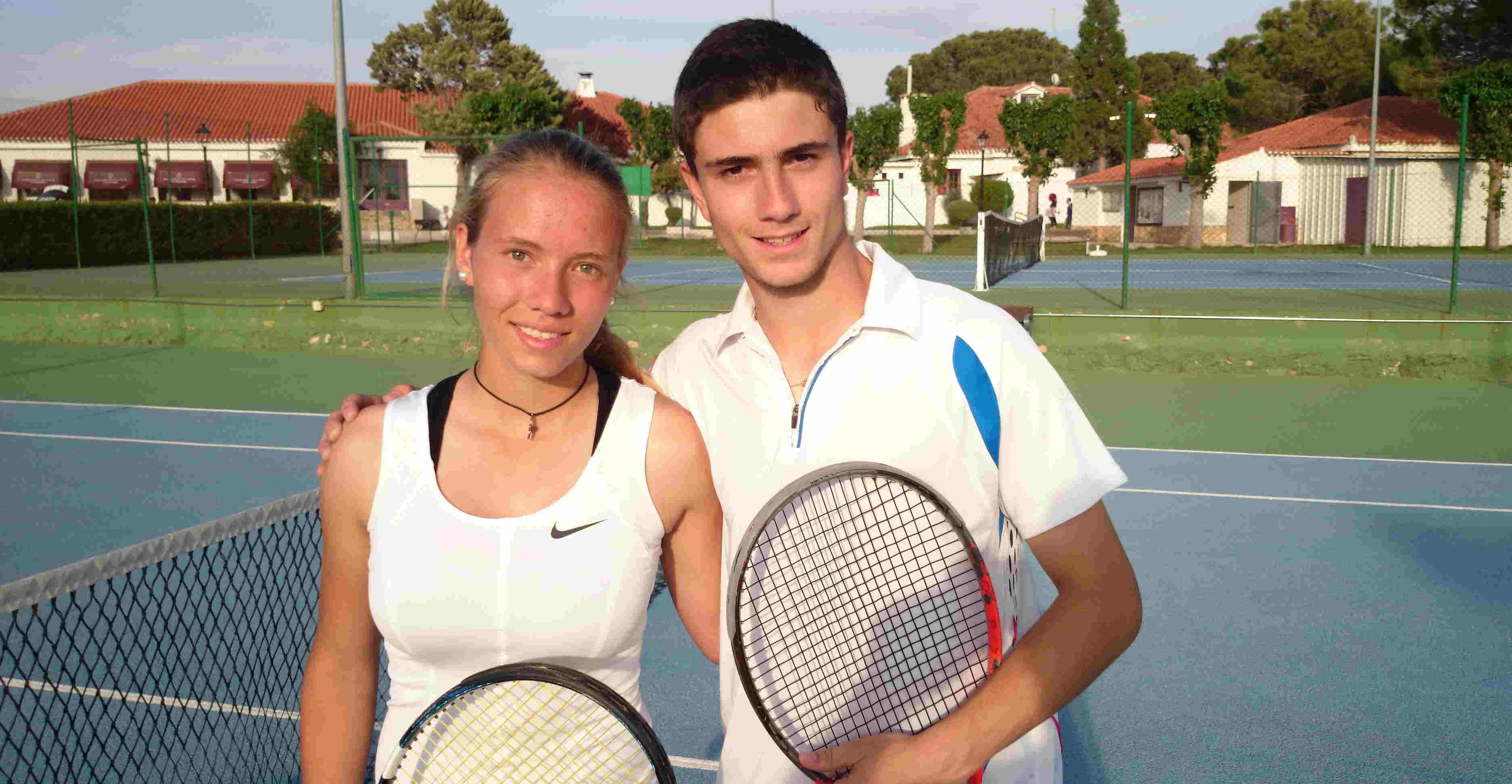 Ainhoa Garijo y Jaime Castillo