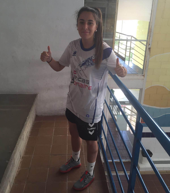 Alba Andrades, jugadora del CFF Albacete