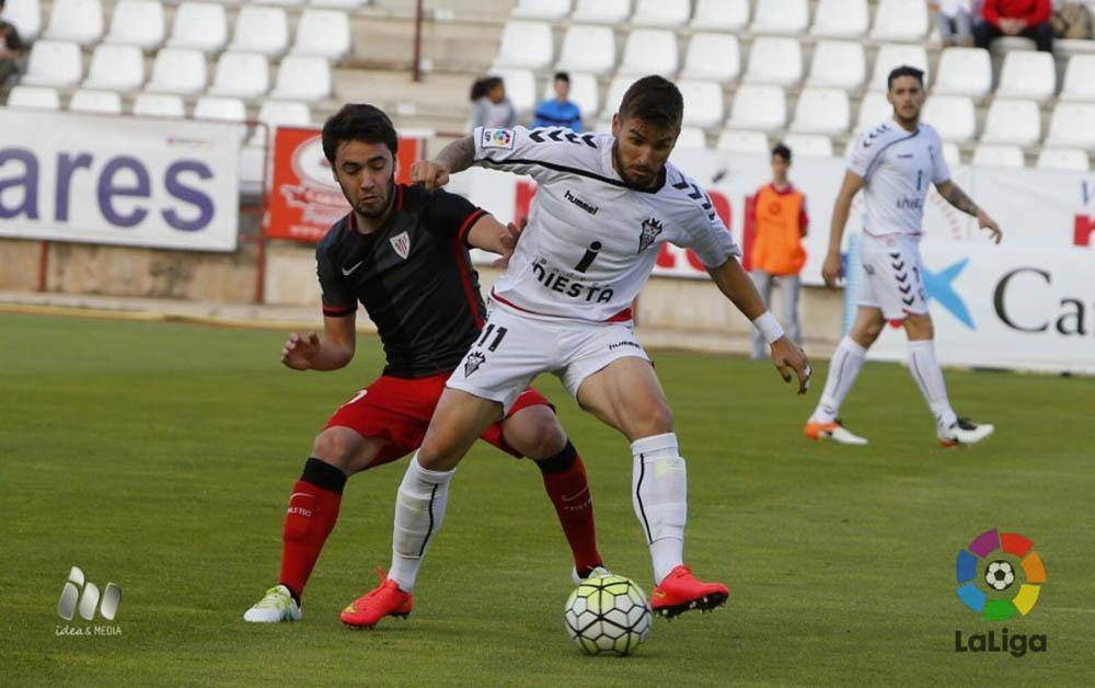 Albacete Balompié - Bilbao Athletic (Foto LFP)