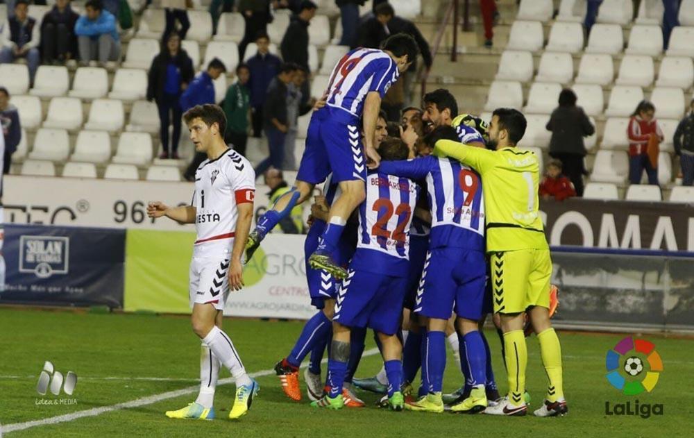 Albacete Balompie - Deportivo Alaves (Foto LFP)