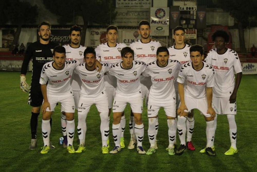 Once inicial del Albacete Balompié en la final de la Copa Cervantes