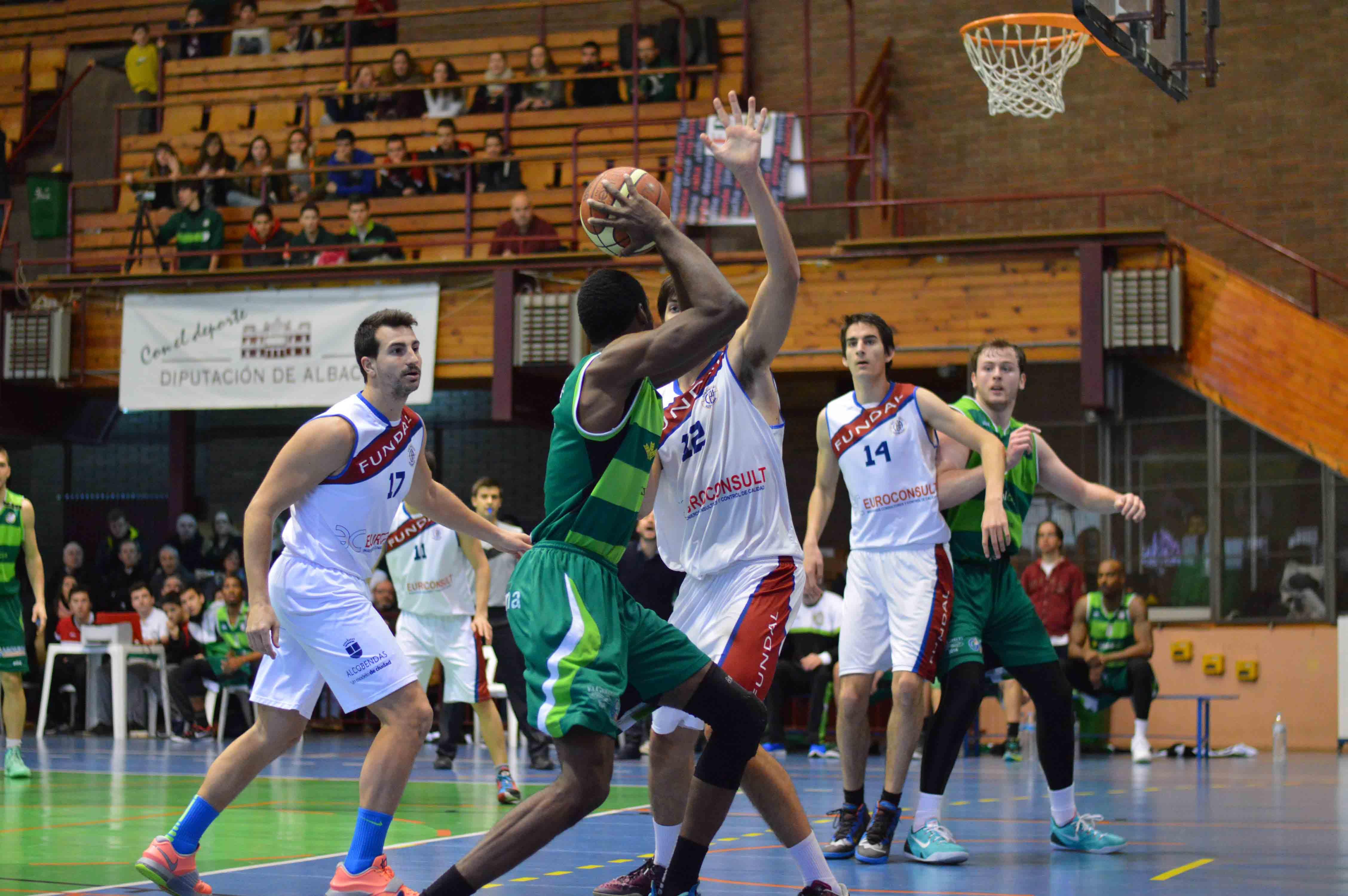 Albacete Basket - Euroconsult Alcobendas (Foto: Juan Luis Serrano)