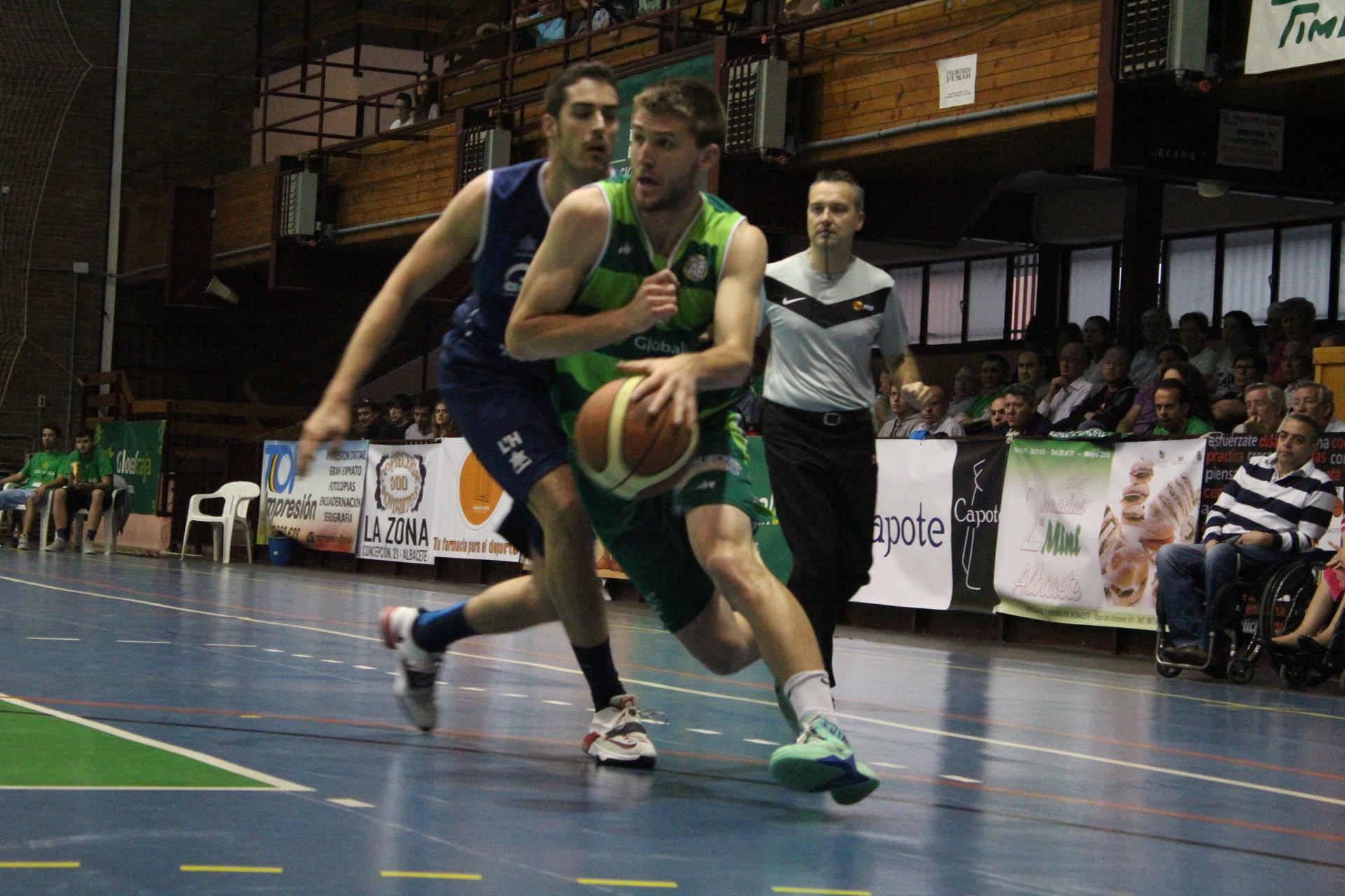 Albacete Basket - Aracena Collblanc (Foto: Juan Luis Serrano)
