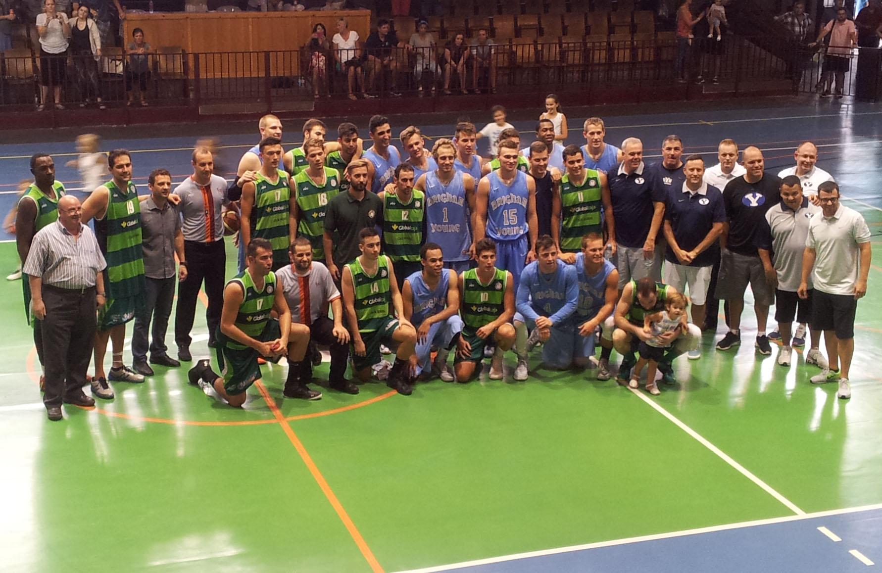 Albacete Basket - BYU Utah