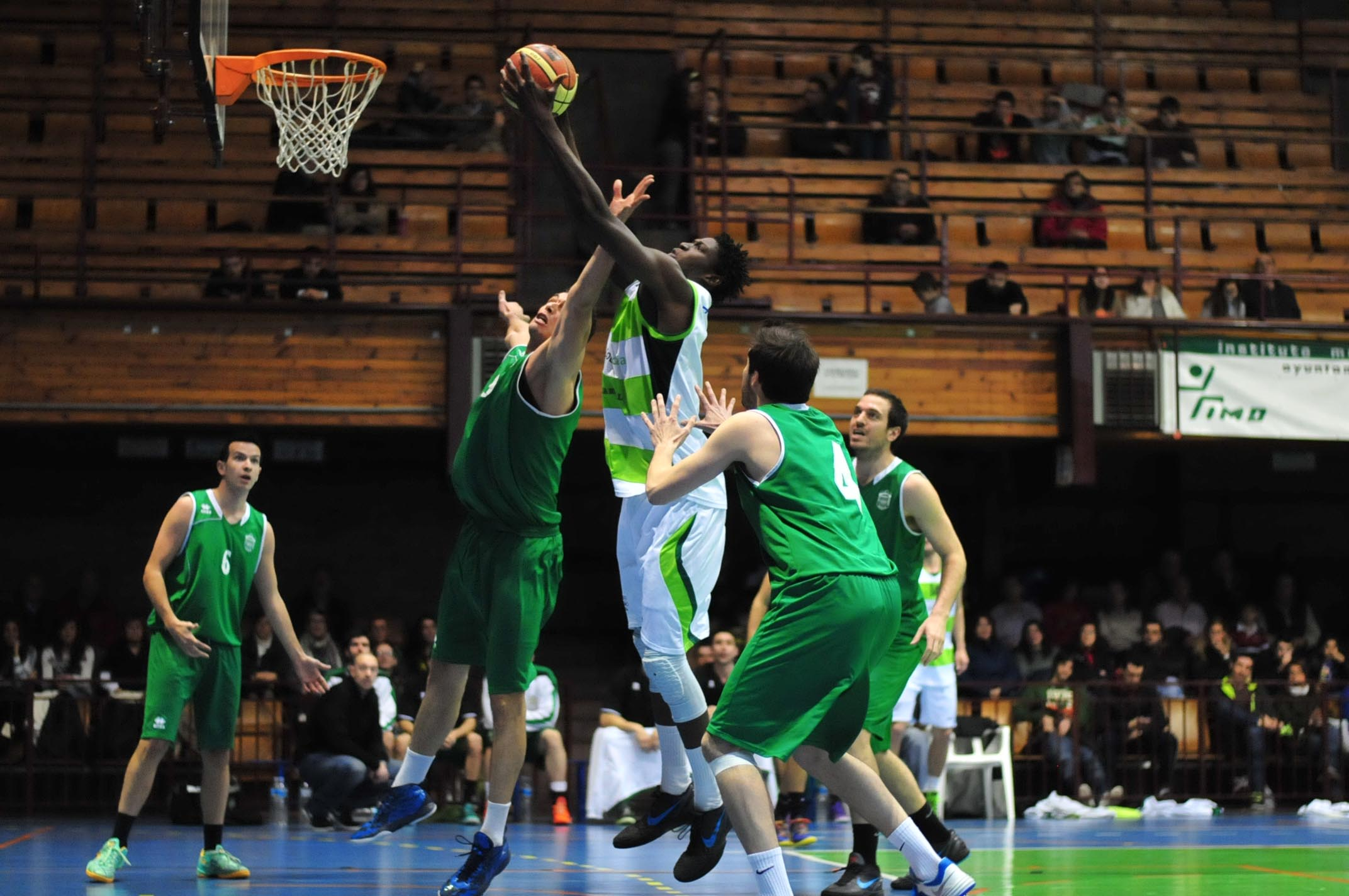 Albacete Basket - Covibar Rivas (Foto: Fito Díaz)