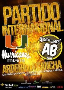 Albacete Basket - Hurricanes Miami