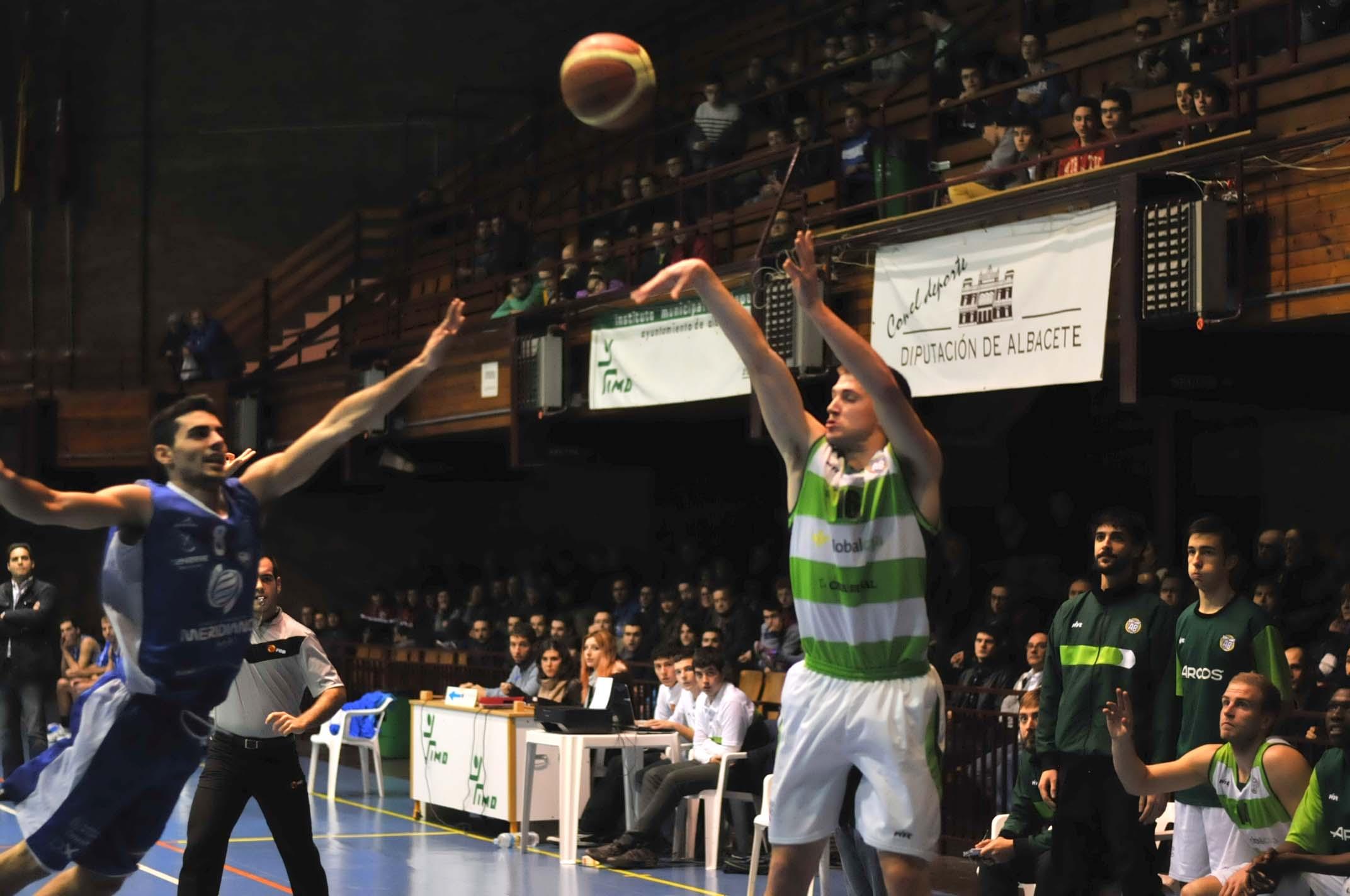 Albacete Basket - Meridiano Santa Cruz (Foto: Fito Díaz)