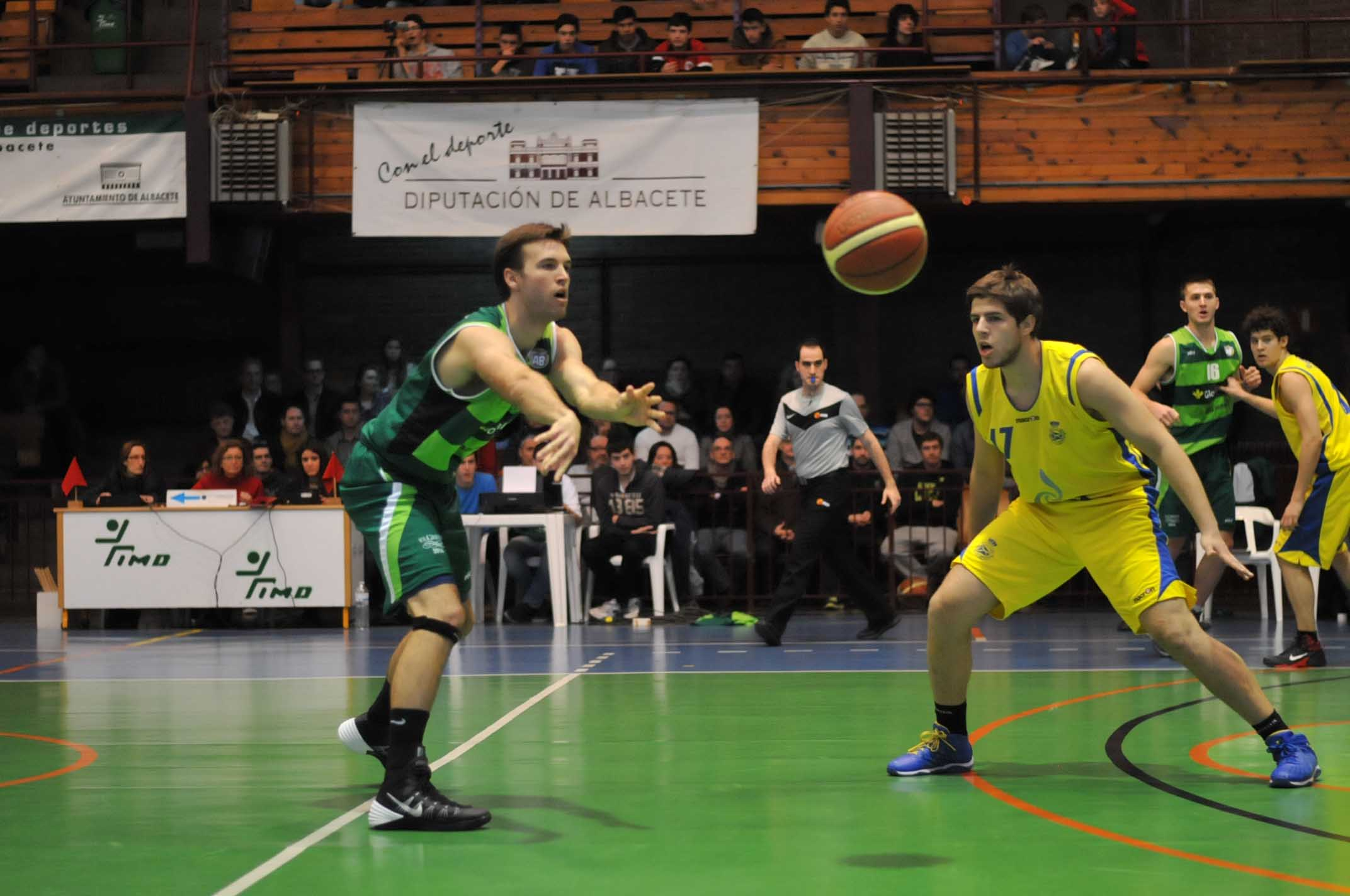 Albacete Basket - Real Canoe (Foto: Fito Díaz)