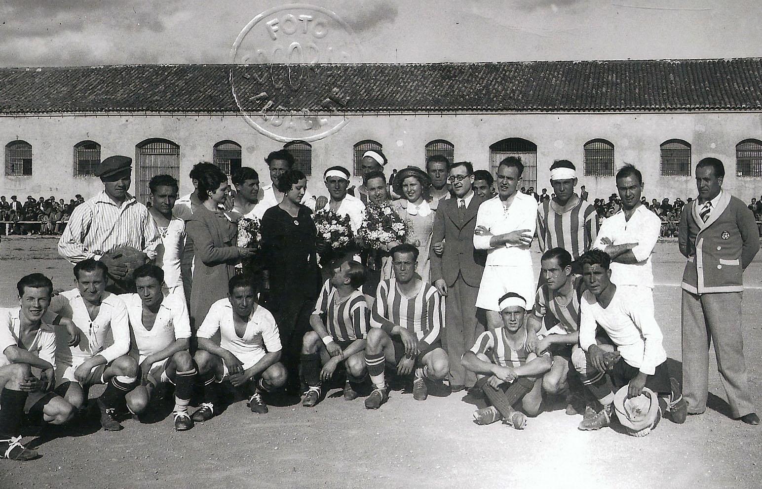 Albacete FC en el Paseo de la Cuba