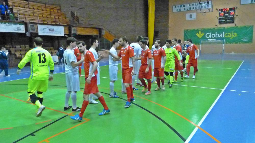 Albacete FS - AD Bargas (Foto: Rafa Gil)