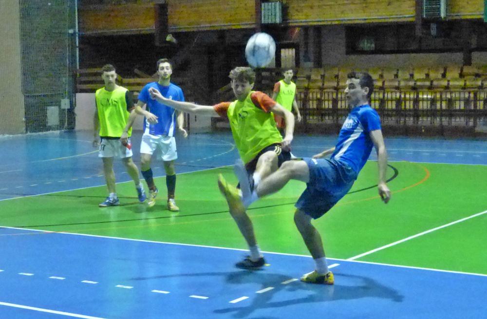 Albacete FS durante un entrenamiento