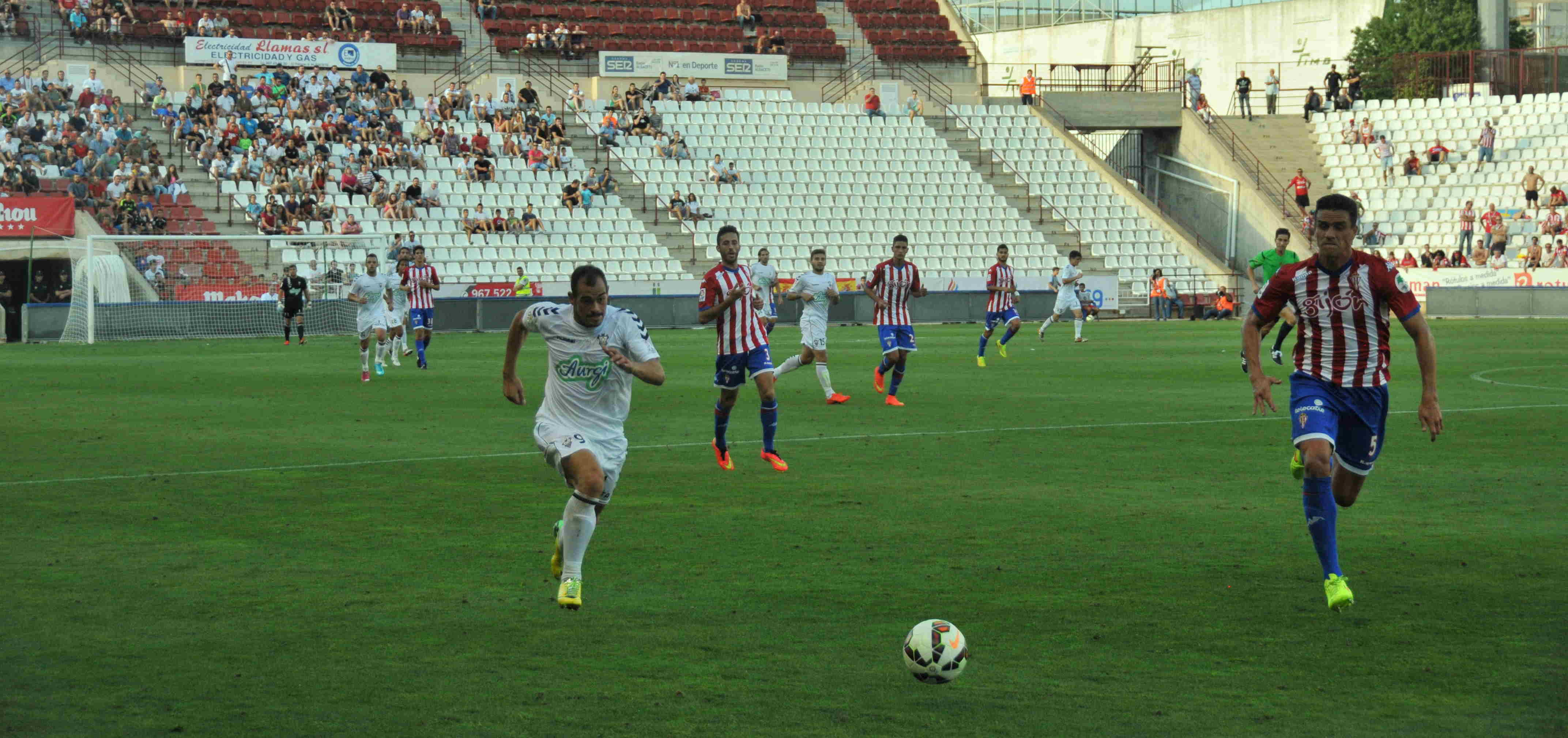 Albacete - Sporting (Foto: Juan García)