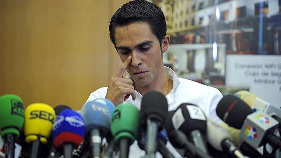 Alberto Contador Rueda de Prensa