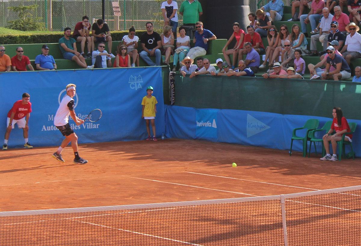 Alejandro Davidovich en las semifinales del Trofeo Internacional de Tenis Ciudad de Albacete