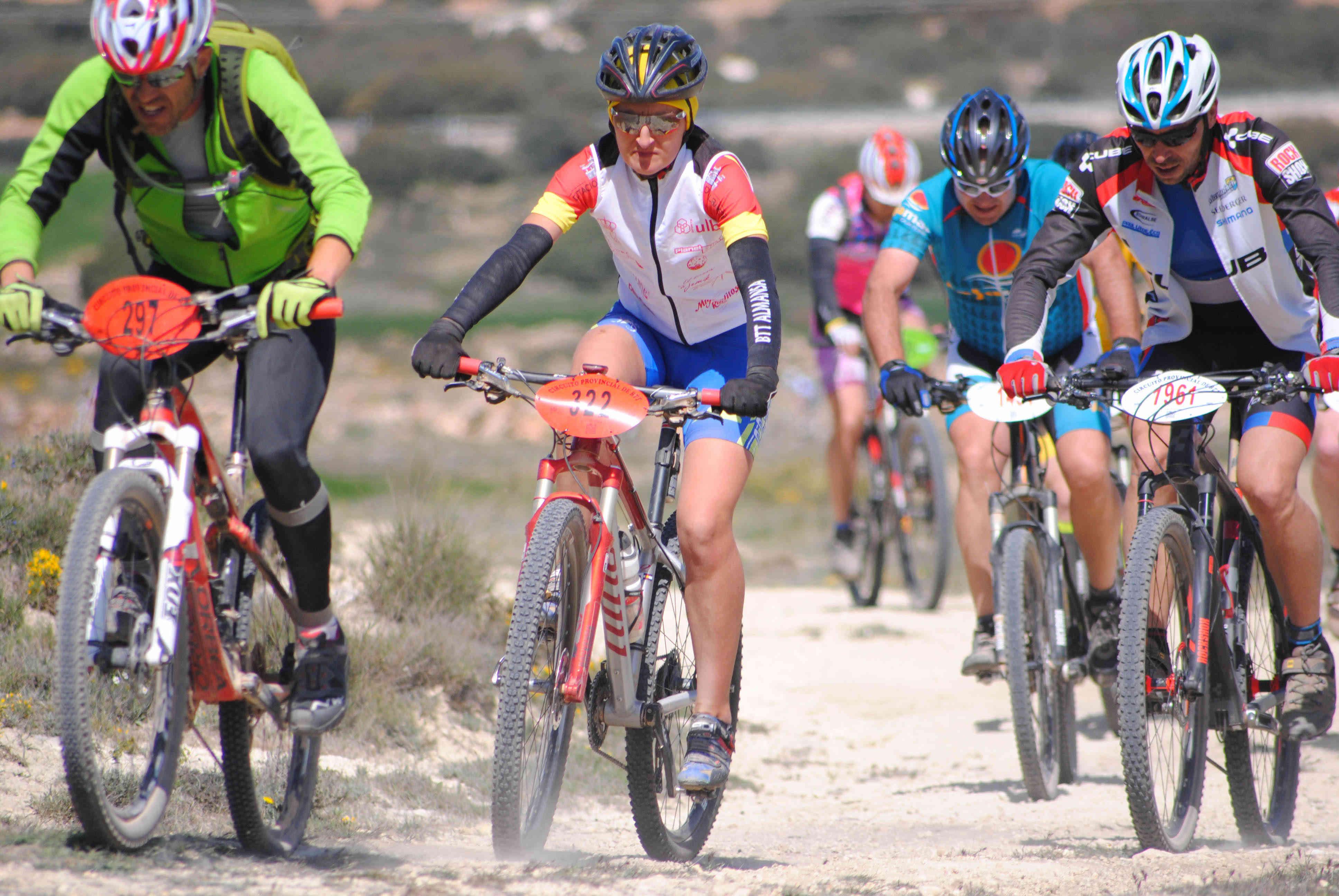 Alicia Campos, campeona en Higueruela (Foto: Prodepor)