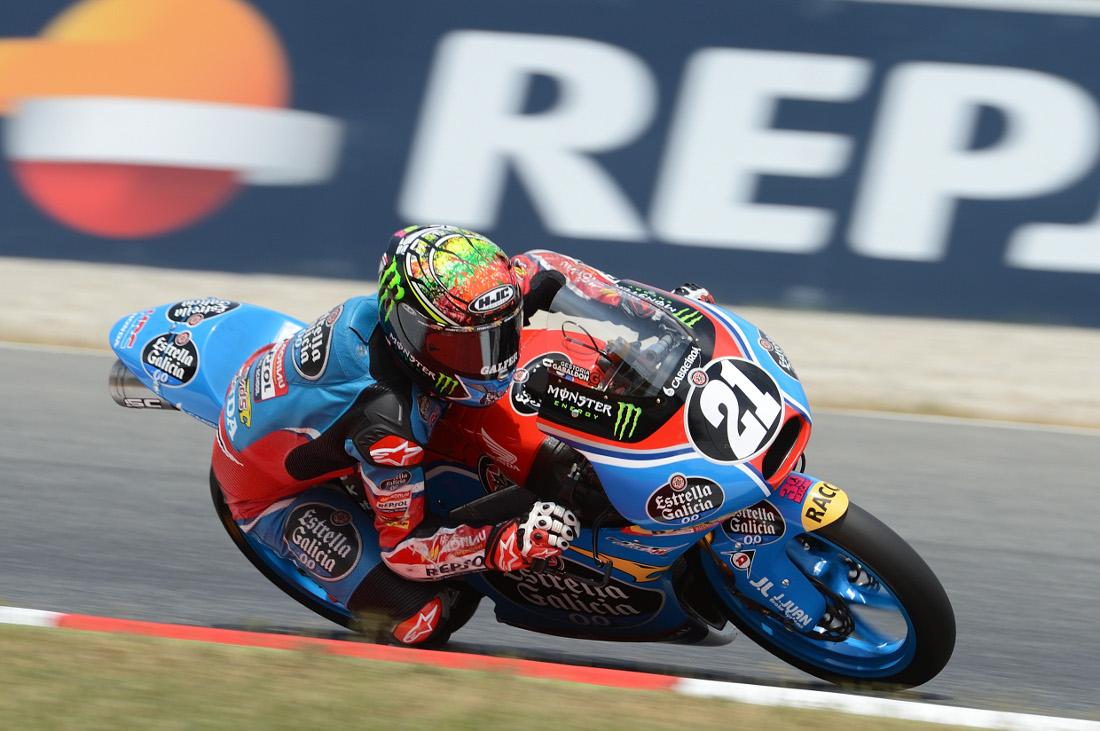 Alonso López en el Circuito de Albacete (Foto: FIM CEV Repsol)