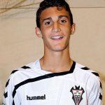 Álvaro García, jugador de la cantera del Albacete Balompié