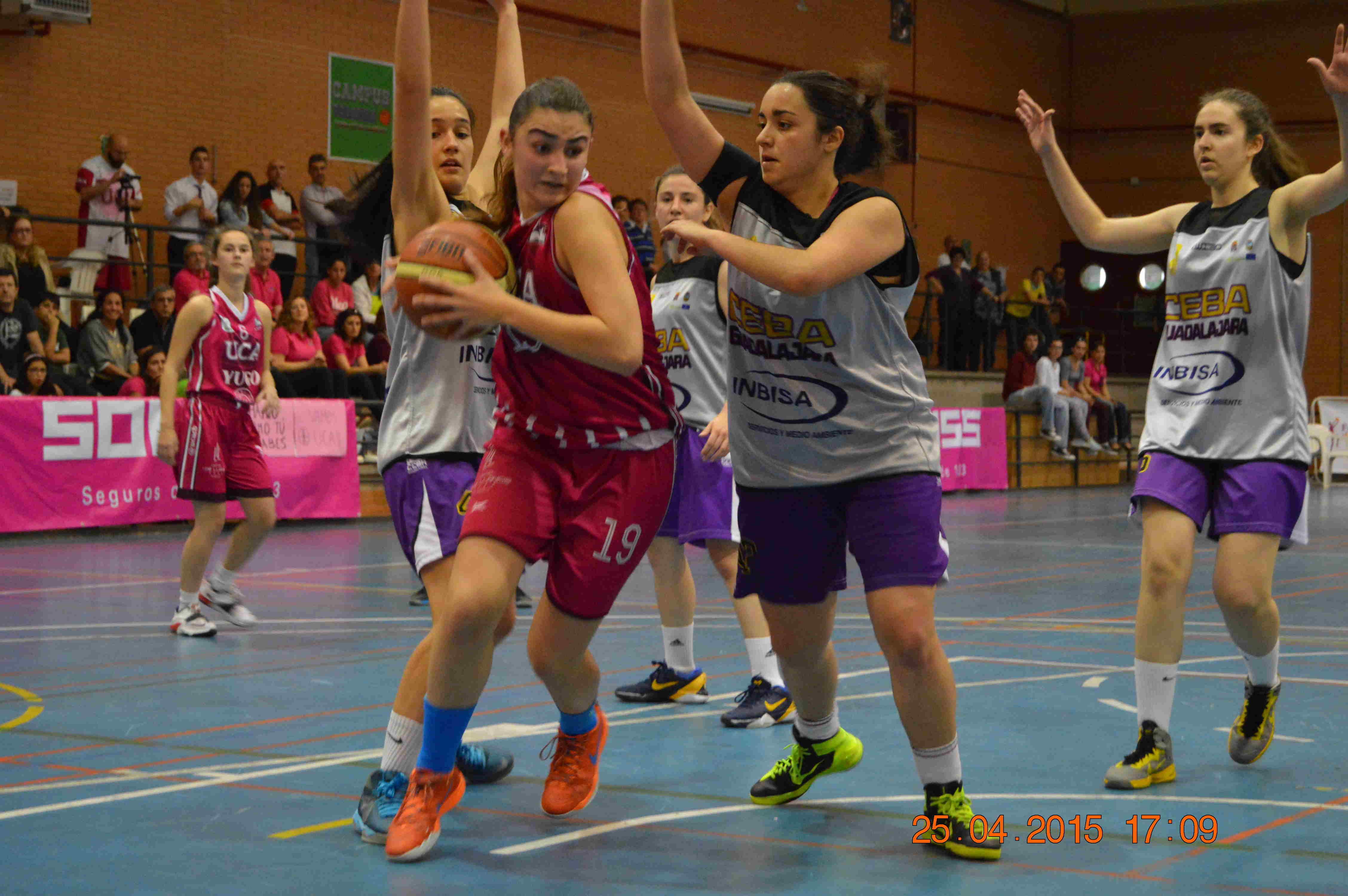 Ana Moreno Piqueras, jugadora del CB UCA