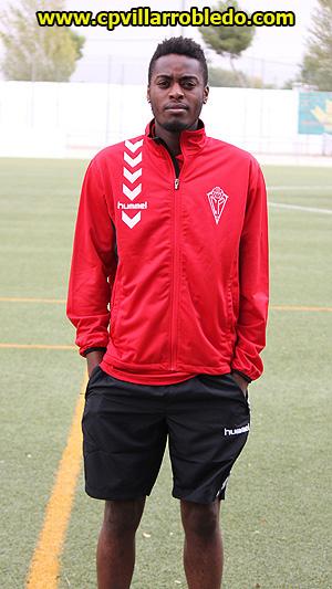 Anthony, nuevo jugador del CP Villarrobledo