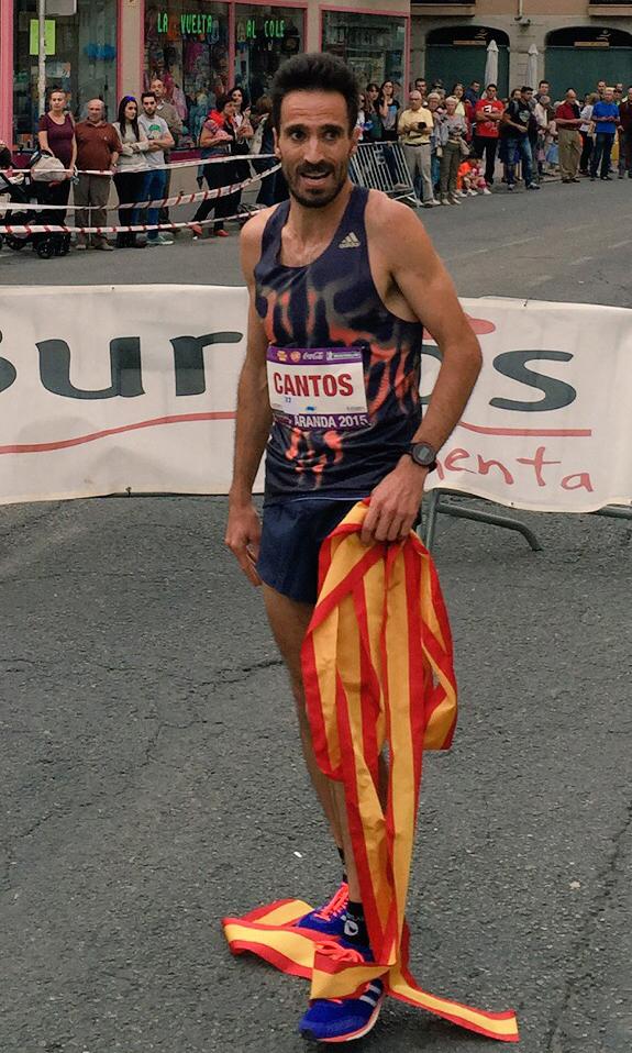 Antonio Cantos en el Higuero Festival Running