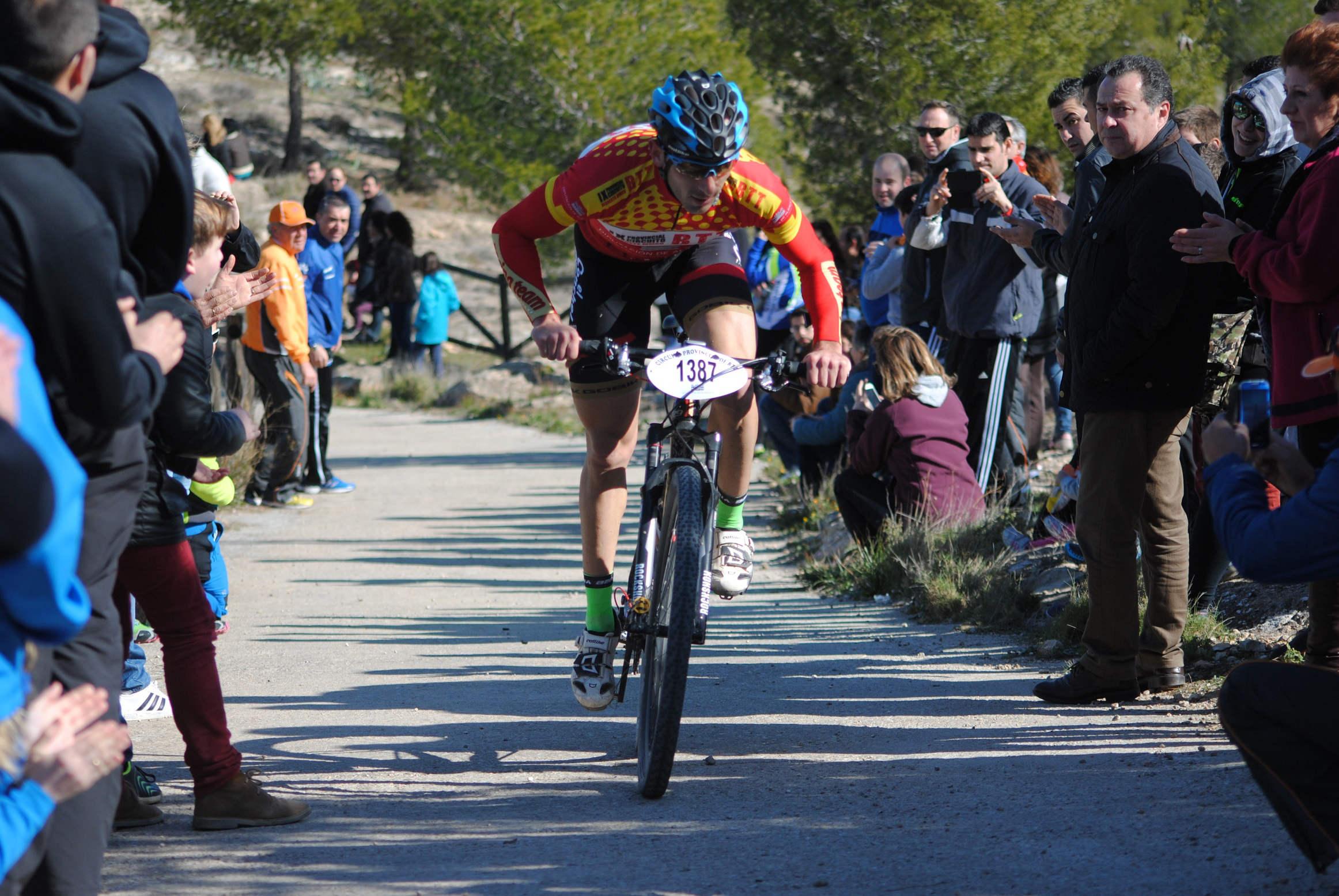 Antonio Peinado, ganador en Tobarra (Foto: Prodepor)