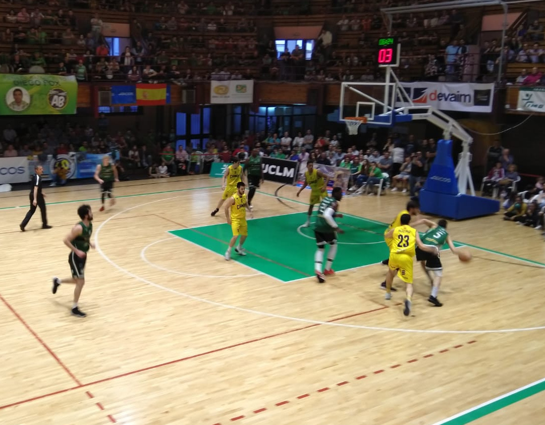 Arcos Albacete Basket - Real Canoe, play off