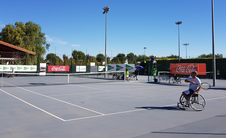 Arturo Montes y Juan José Rodríguez en las semifinales