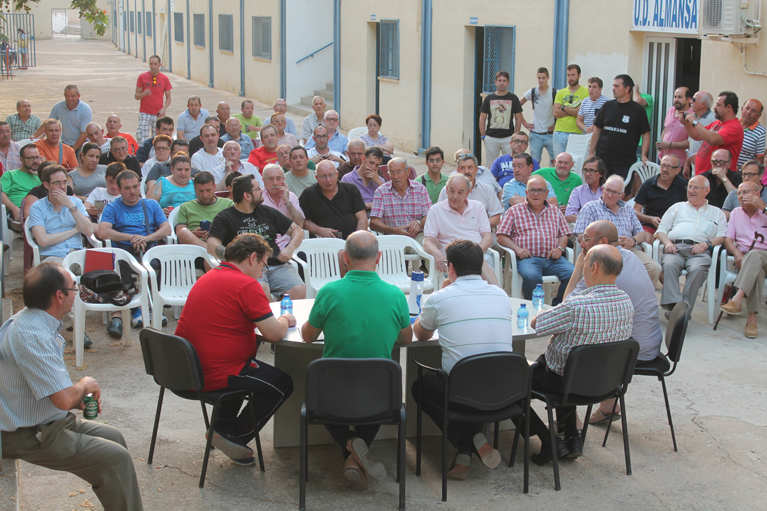 Asamblea de Socios de la UD Almansa