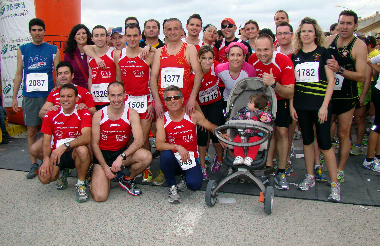 Atletas de Barrax (Foto: Paco Villaescusa)