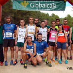 Atletas de Ossa de Montiel en la V Carrera Popular de Ossa de Montiel (Foto: Paco Villaescusa)