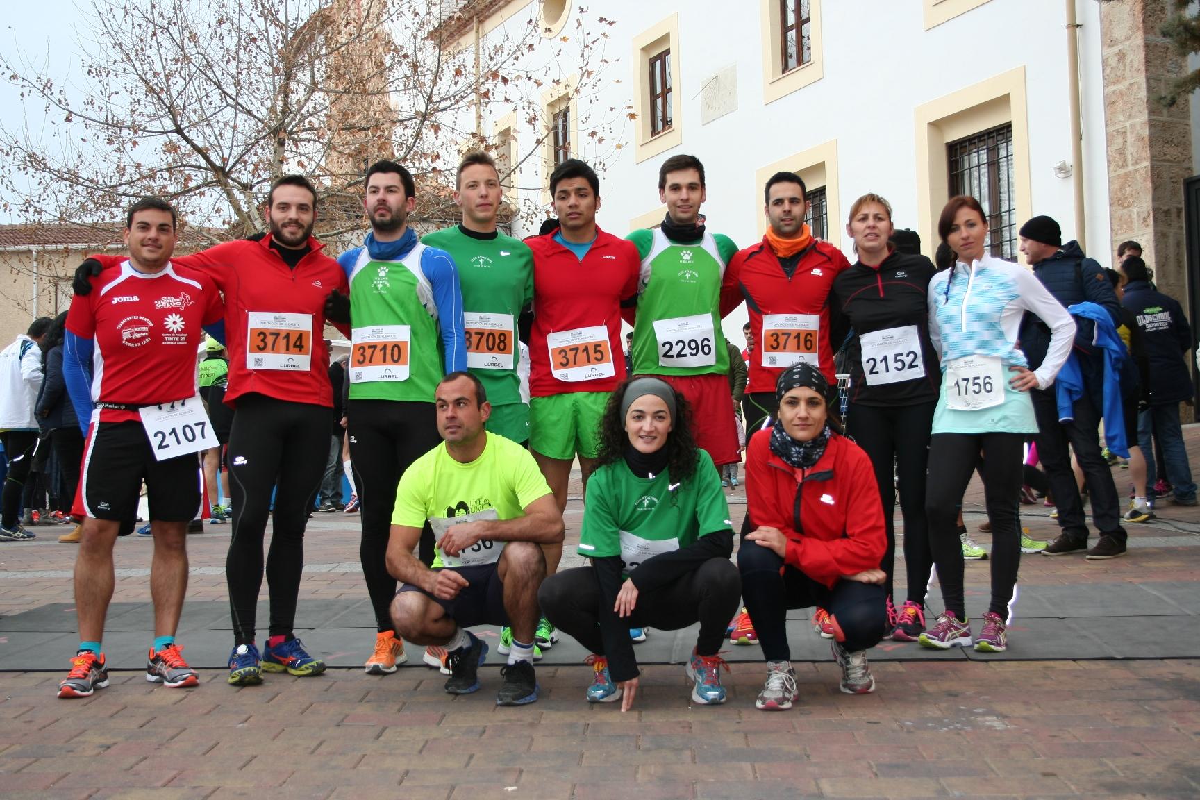 Atletas de Yeste