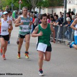 Atletas en Minaya (Foto: Paco Villaescusa)