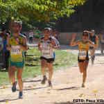 Atletas en Ossa de Montiel (Foto: Paco Villaescusa)