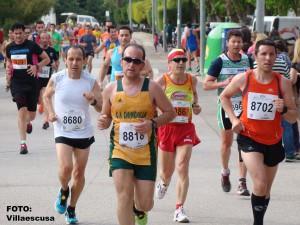 Atletas en la IV Carrera Popular de Minaya (Foto: Paco Villaescusa)