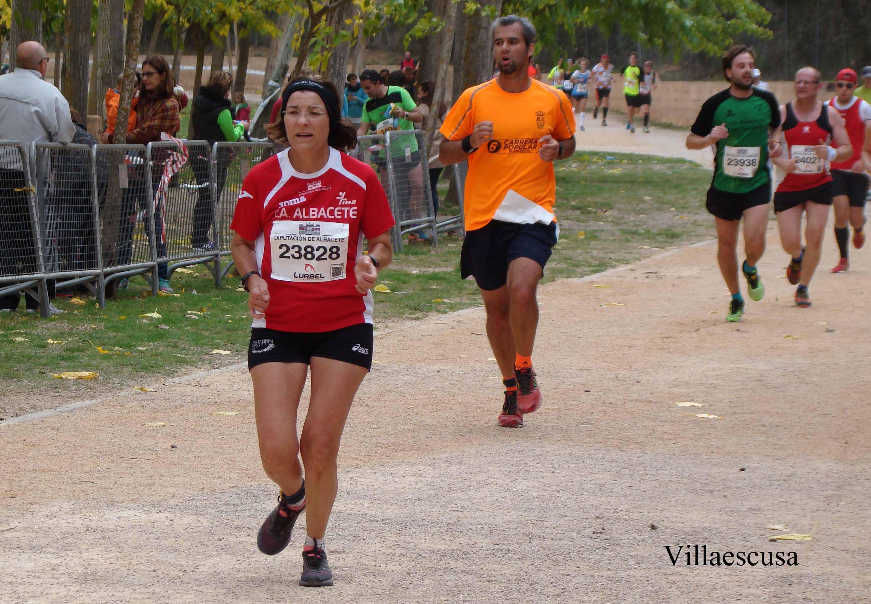Atletas en la V Carrera Popular de Ossa de Montiel (Foto: Paco Villaescusa)