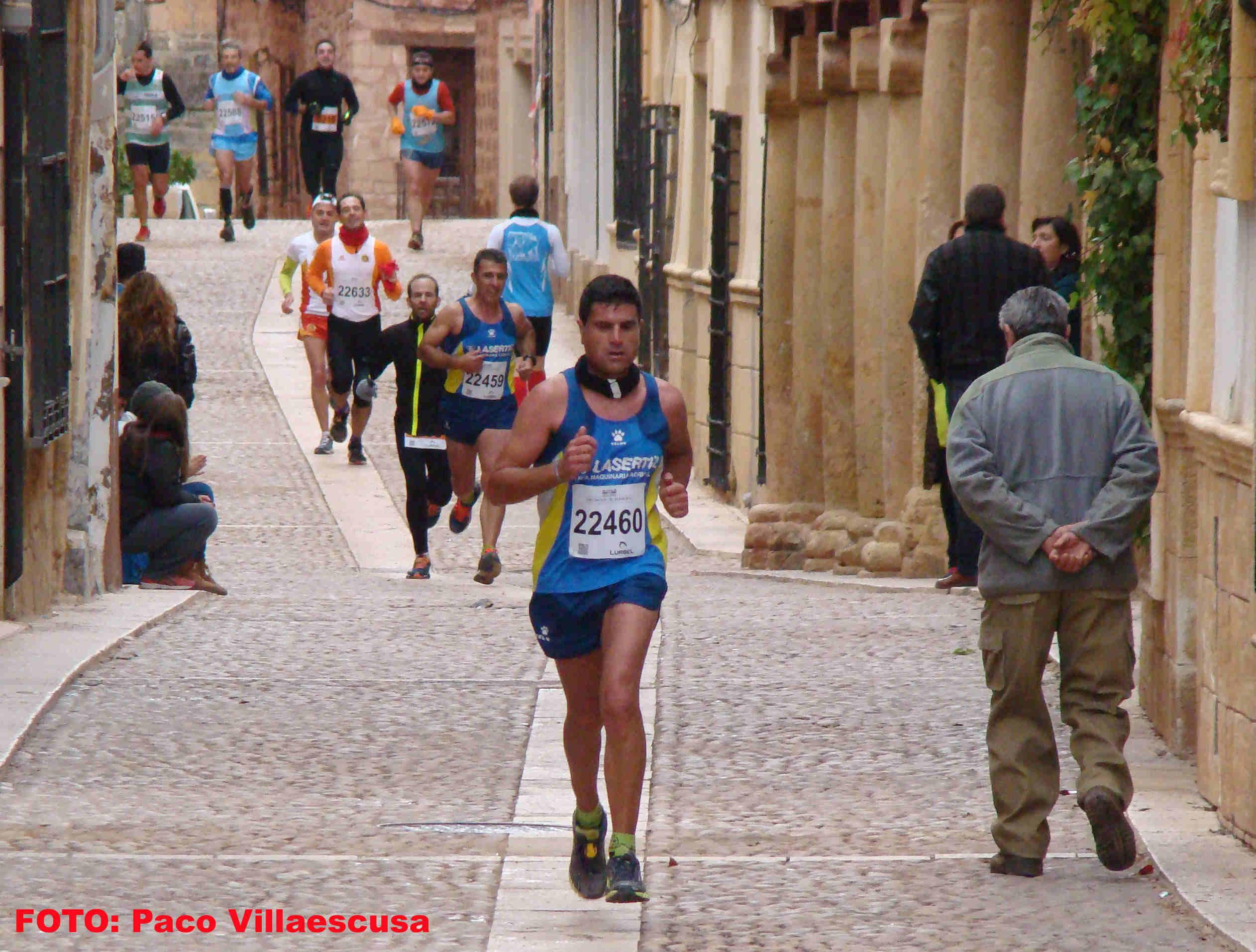 Atletas populares en Alcaraz (Foto: Paco Villaescusa)