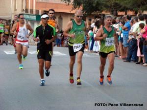 Atletas populares en Cenizate