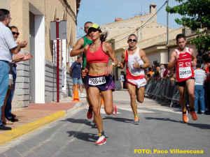 Atletas populares en Hoya Gonzalo (Foto: Francisco Villaescusa)