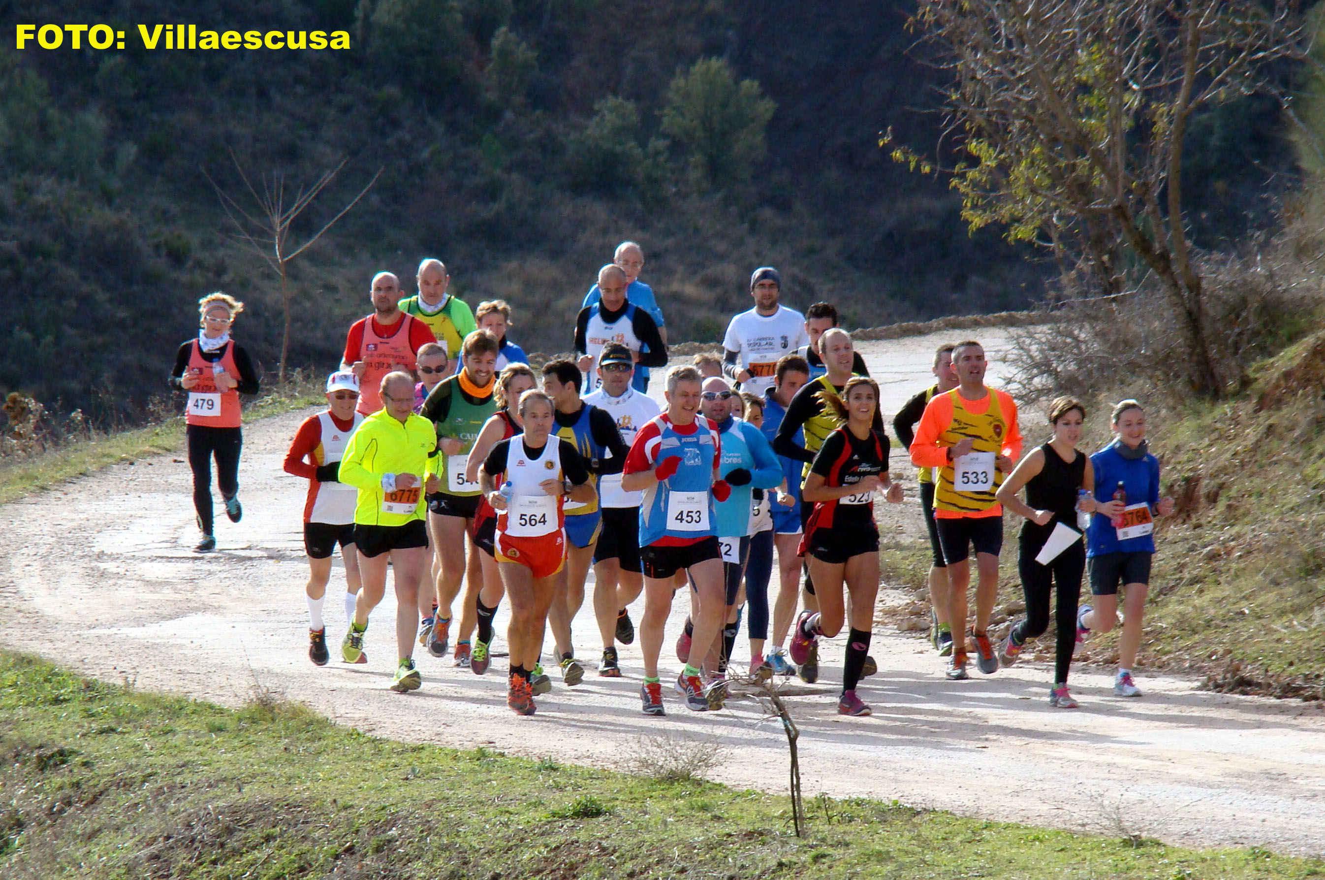 Atletas populares en Paterna del Madera (Foto: Paco Villaescusa)