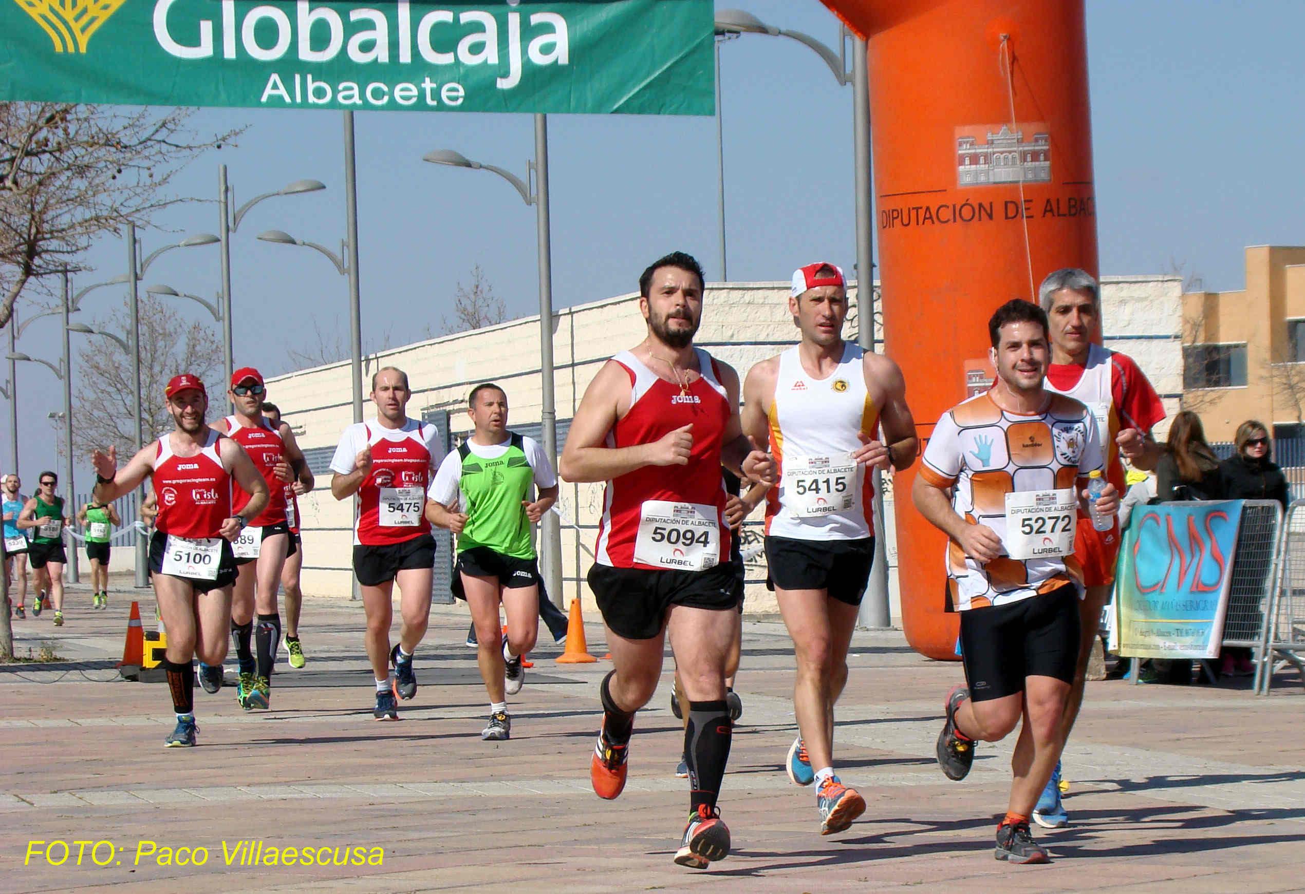 Atletas populares en Villarrobledo 2 (Foto: Paco Villaescusa)